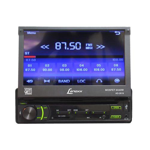 dvd-automotivo-lenoxx-touch-screen-tela-de-7-conexao-usb-controle-remoto-ad2619-dvd-automotivo-lenoxx-touch-screen-tela-de-7-conexao-usb-controle-remoto-ad2619-37878-0