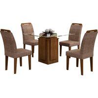 mesa-de-jantar-5-pecas-100-mdf-com-tampo-em-vidro-tecido-suede-amassado-rufato-amsterda-900-chocolate-36874-0