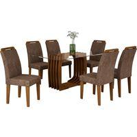 mesa-de-jantar-7-pecas-100-mdf-com-tampo-em-vidro-tecido-suede-amassado-rufato-monalisa-1800-chocolate-36875-0
