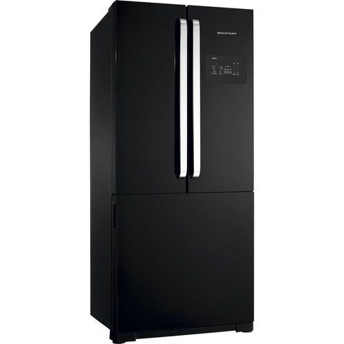 Geladeira / Refrigerador Brastemp, Frost Free, 540L, Preto - BRO80AE - 110V