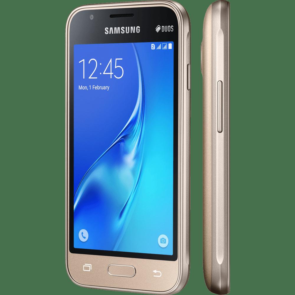 Telefonia smartphones samsung novo mundo smartphone samsung galaxy j1 mini dual chip 8gb dourado sm j105d stopboris Image collections
