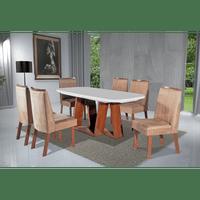 mesa-de-jantar-laura-6-cadeiras-pes-em-pvc-tampo-de-vidro-e-mdf-bom-pastor-amendoa-bege-61678-0