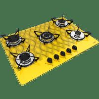 cooktop-casavitra-5-bocas-wavy-tripla-chama-amarelo-e10e56-534-bivolt-38585-0