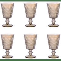 jogo-de-tacas-para-agua-bon-gourmet-geometric-6-pecas-250ml-ambar-vidro-28111-conjunto-de-tacas-para-agua-bon-gourmet-geometric-6-pecas-250ml-ambar-vidro-28111-64937-0