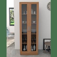 armario-multiuso-em-mdp-2-portas-de-vidro-4-prateleiras-office-plus-castanho-65711-0