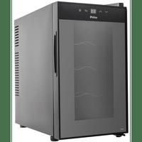 adega-climatizada-philco-8-garrafas-controle-eletrnico-preta-pad8-220v-66091-0