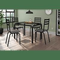 conjunto-copa-5-peas-4-cadeiras-ao-carbono-107x107-malva-4118-preto-liso-fosco-platina-66461-0