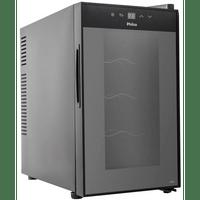 adega-climatizada-philco-8-garrafas-controle-eletrnico-preta-pad8-110v-66090-0