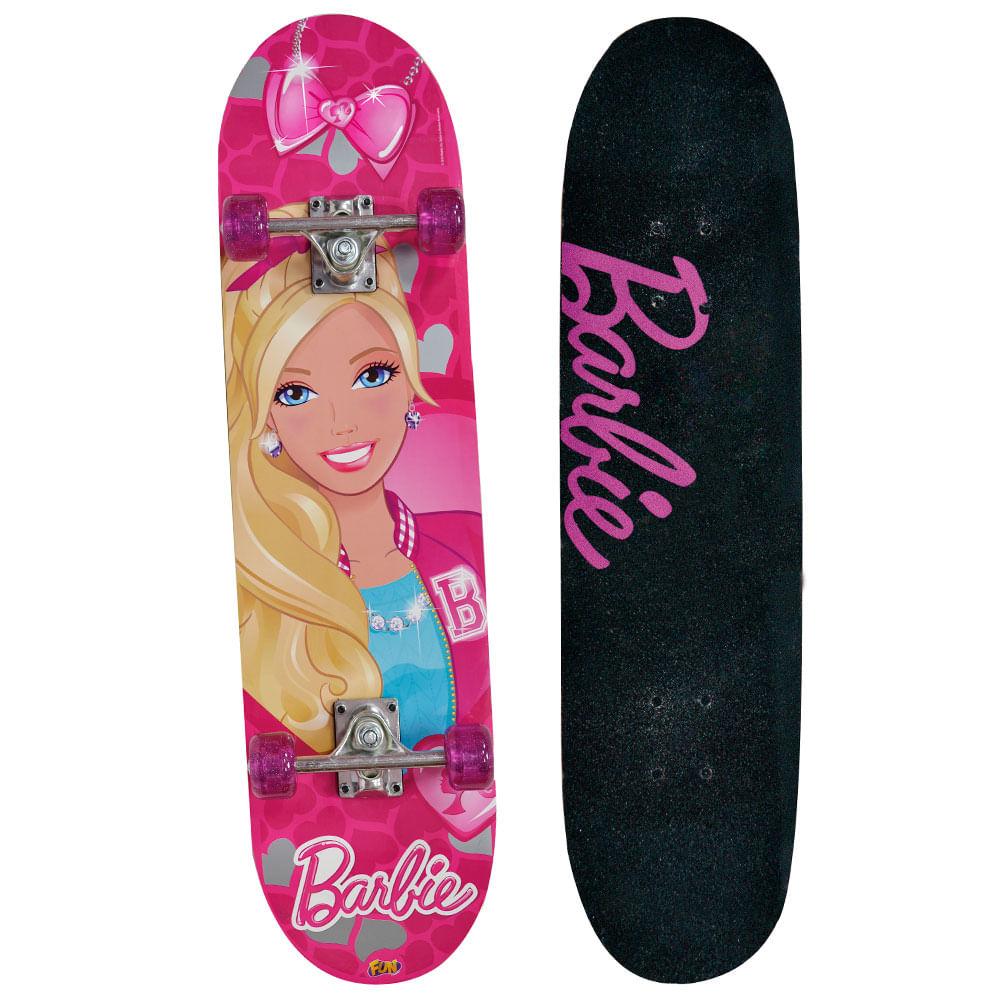 f88b991835a Barbie Skate com Acessórios e Adesivos Glitter - Fun Divirta-Se - Novo Mundo