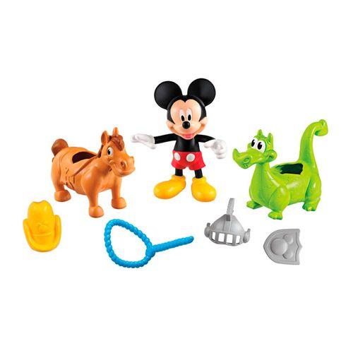 DisneyMickeyMouseAventuraAnimalCavaloeDragaoMattel