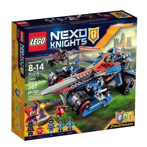 LegoNexoKnightsEspadaEstrondosadoClay70315LEGO