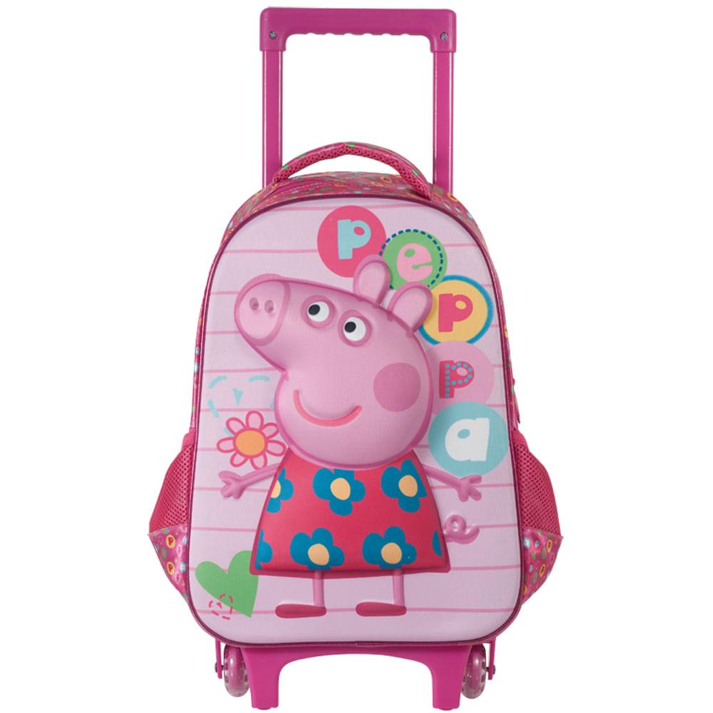 mochila infantil da peppa pig com o george pig compre agora