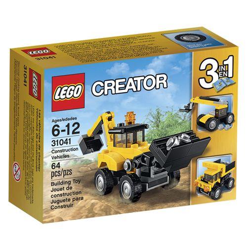 LegoCreator31041VeiculosdeConstrucaoLEGO