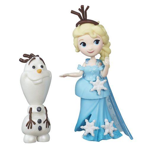FrozenMiniBonecaElsaeOlafHasbro