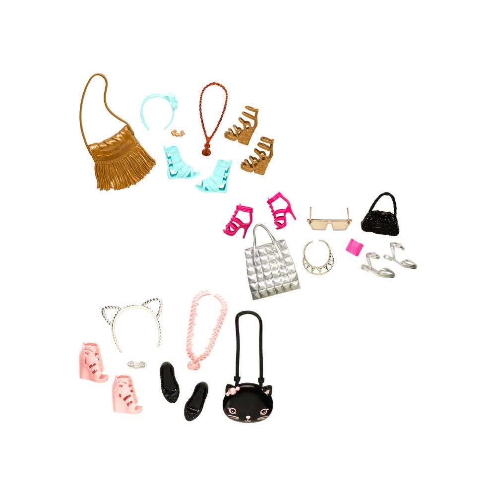 0177414106 Barbie Fábrica de Bolsas e Sapatos Sortidos - Mattel - Novo Mundo