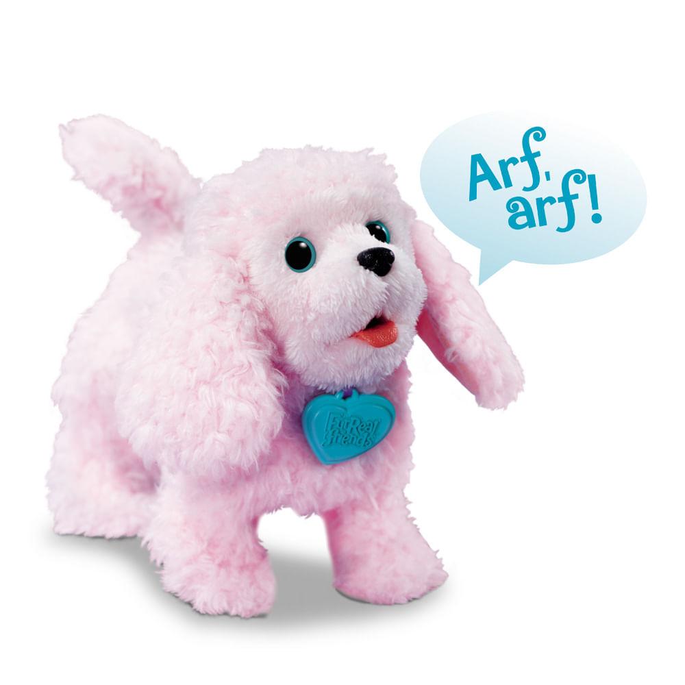 Cachorrinhos que Andam Furreal Poodle PomPom - Hasbro - Novo Mundo 28a59b4d153