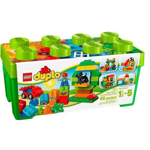LegoDuploCaixaDivertidaTudoemUmLego