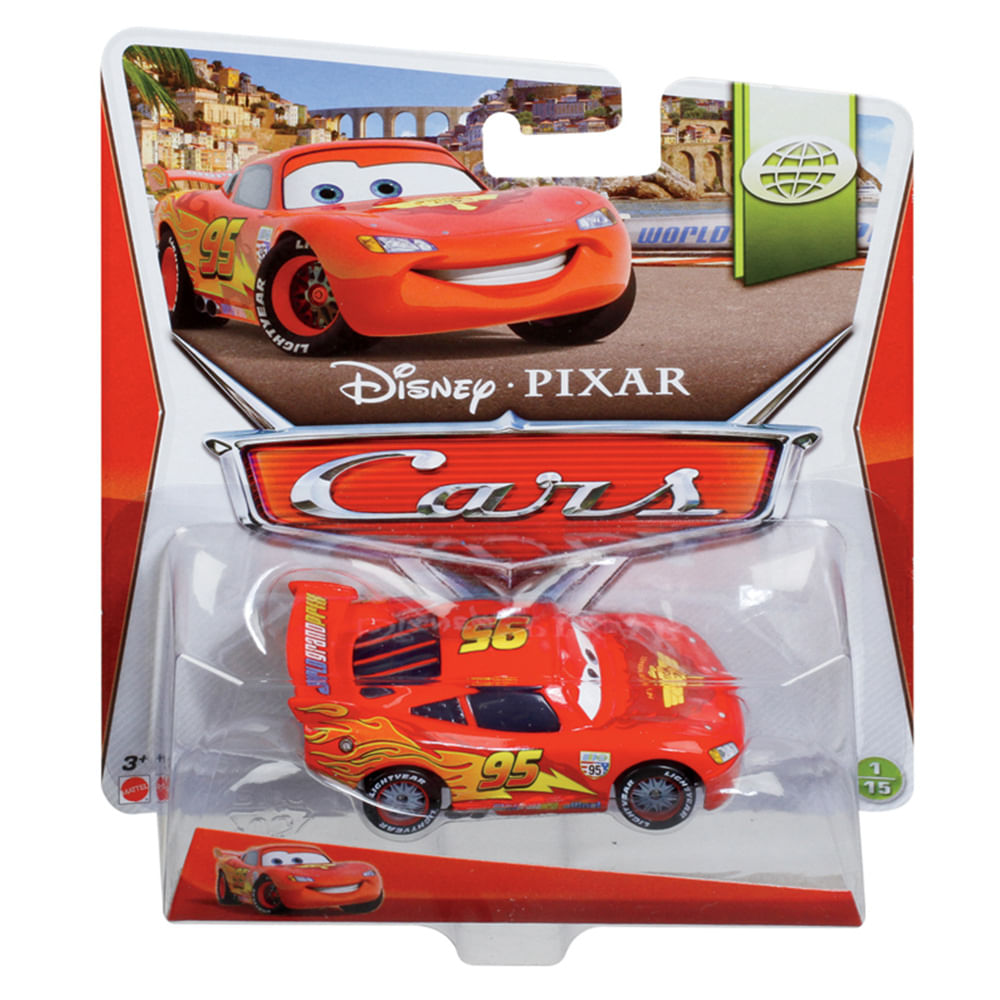 1cce4223316 Carros 2 Veículo Relâmpago McQueen - Mattel - Novo Mundo