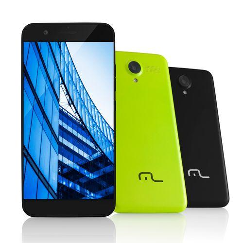 Smartphone Ms50 4g Multilaser Câmera 8 Mp + 5 Mp Quad Core 1gb Ram Preto - P9013