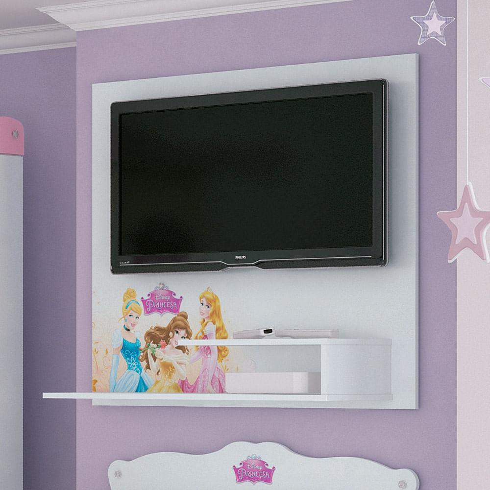 Painel Tv Princesas Disney Star Para Quarto Infantil At 32  ~ Home Tv Quarto Casal Com Painel Quarto Infantil