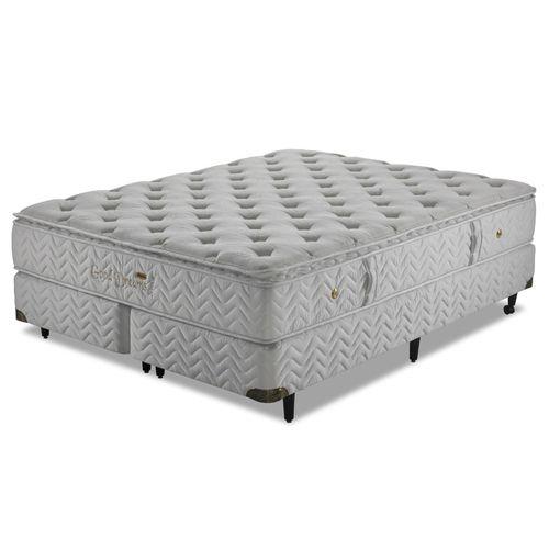 Cama Box Casatema Good Dreams 193x203x67 Molas Tipo Pocket