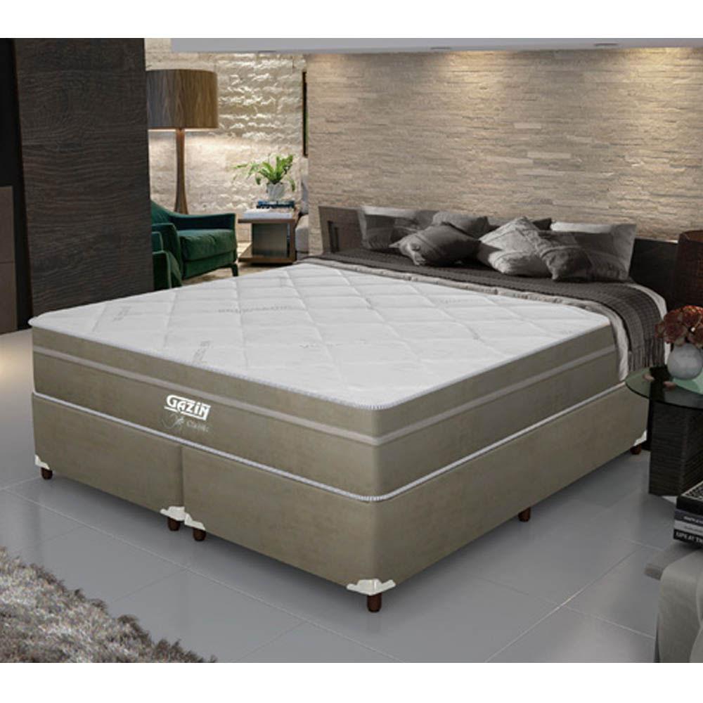 Cama box king size daniel classic molas ensacadas e pillow for Ofertas de camas king size