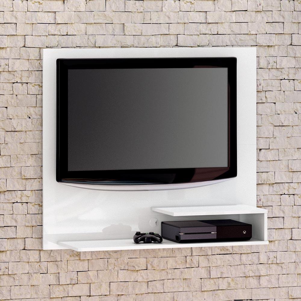 Painel Tv Para Quarto Infantil Smart Branco At 32 Polegadas  ~ Home Tv Quarto Casal Com Painel Quarto Infantil