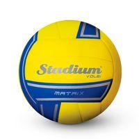 efc0deb0cb Bola Stadium Volei Matrix Amarela e Azul - Penalty