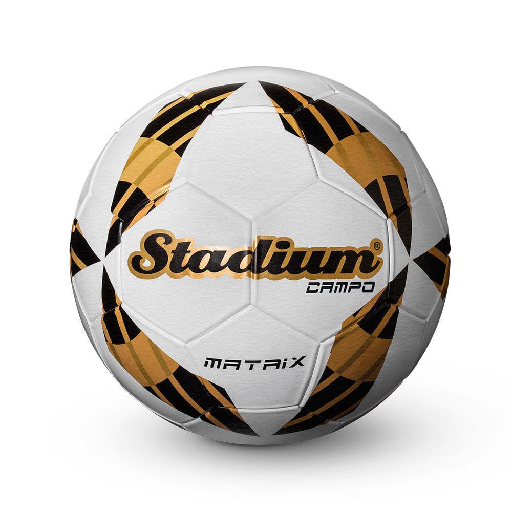Bola Matrix Stadium de Campo Dourada - Penalty - Novo Mundo c119edef817cf