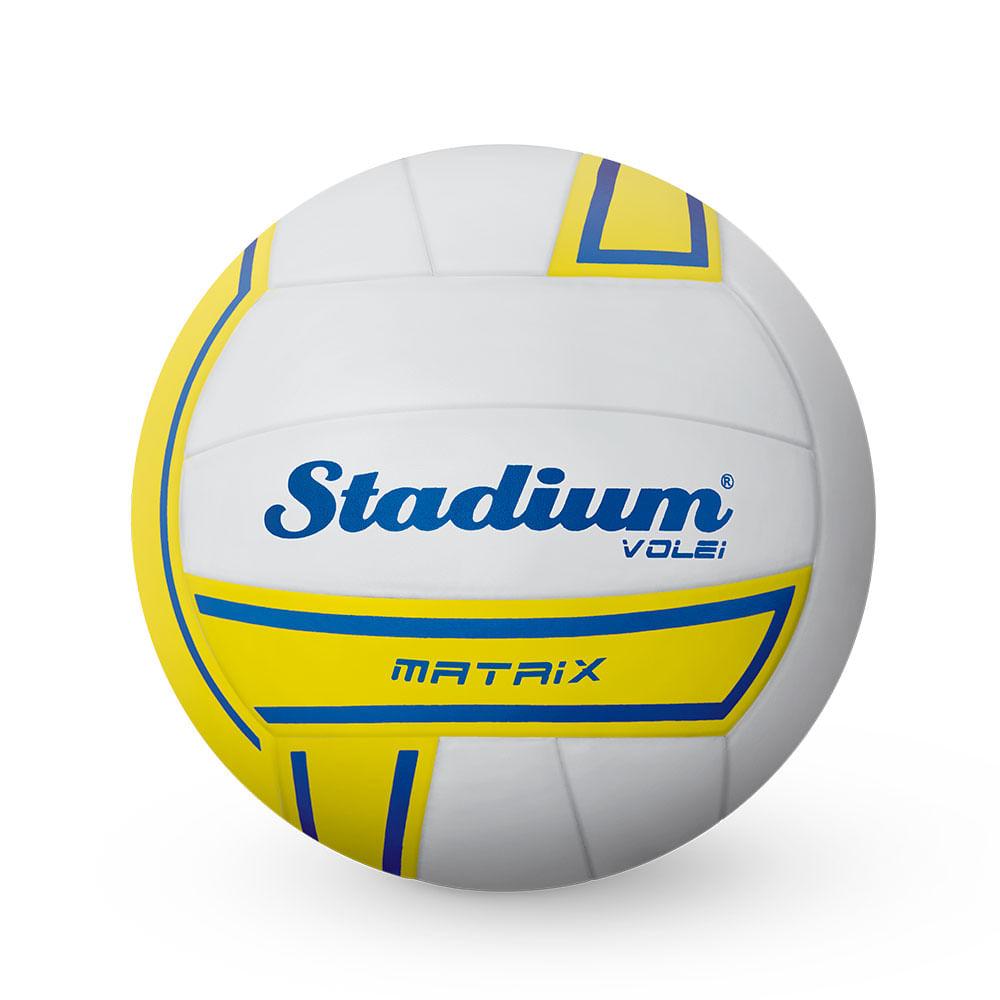 00867f6e45 Bola Stadium Volei Matrix Branco com Amarelo - Penalty. Cód. do Produto   5205411880. BolaStadiumVoleiMatrixBrancocomAmareloPenalty
