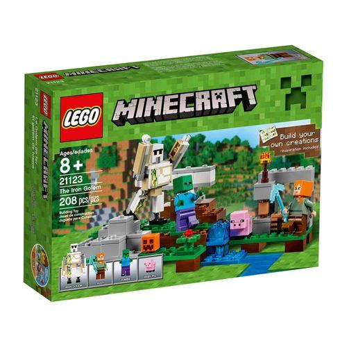 LegoMinecraft21123OGolemdeFerroLEGO