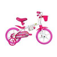 BicicletaAro12CecizinhaRosaCaloi