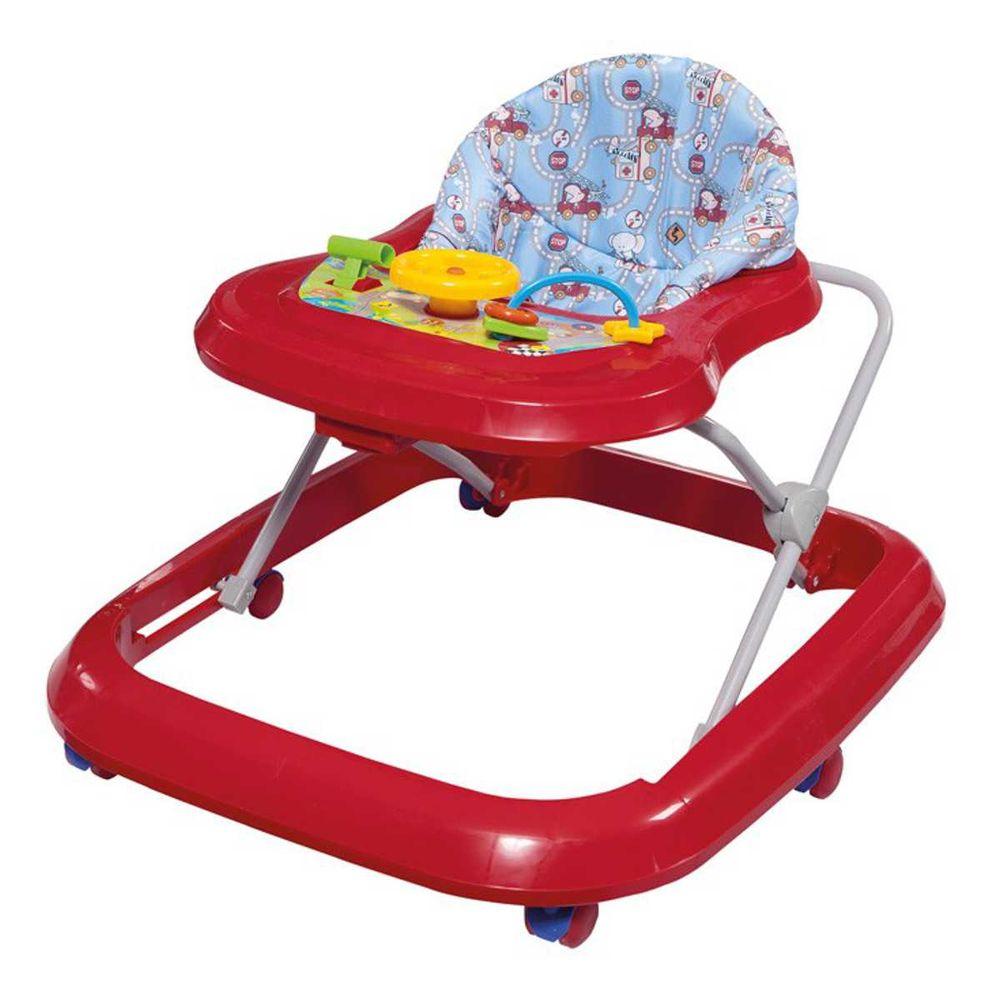 6a6ea1528b Andador Toy Musical Primeiros Passos - Tutti Baby - Novo Mundo