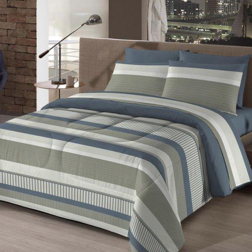 0c19b5b6ef Kit Cama Casal 150 Fios Bed In a Bag 7 peças - Camesa - Novo Mundo