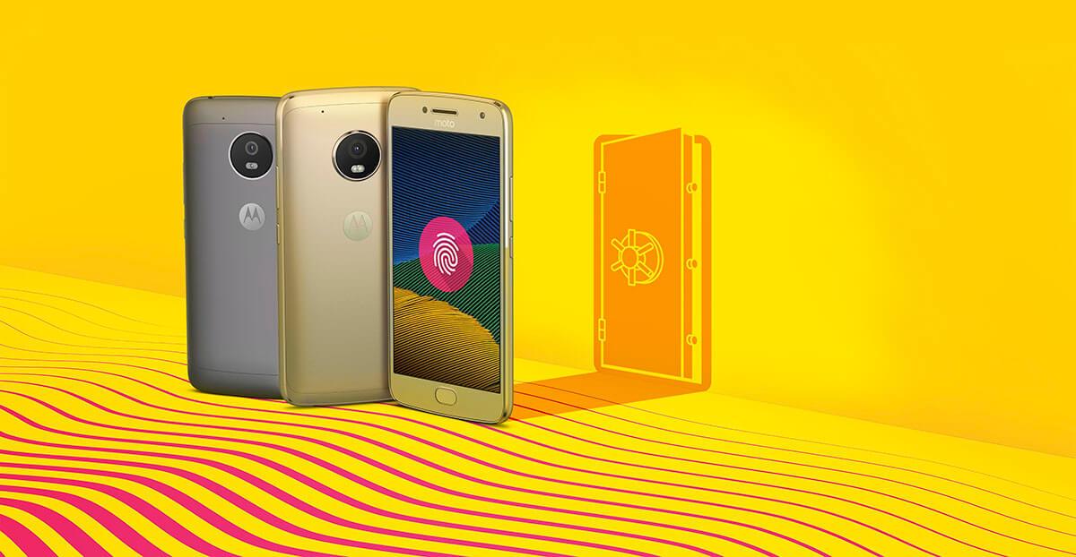 Sensor Moto G5 Plus Ouro