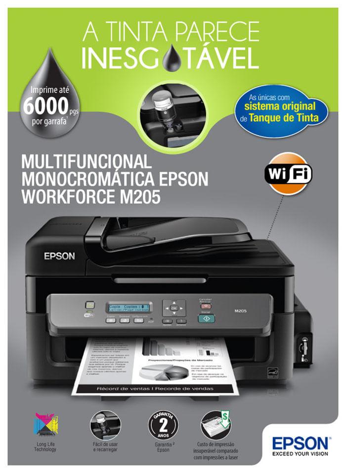 Impressora Multifuncional Epson Ecotank