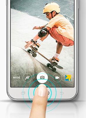 Câmera Samsung Galaxy J5