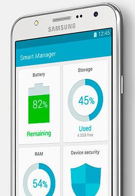 Gerenciador Inteligente Samsung Galaxy J5