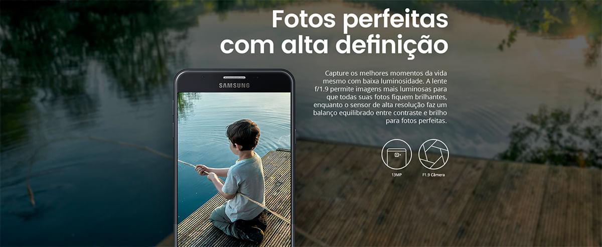 Câmera Galaxy J5 Prime