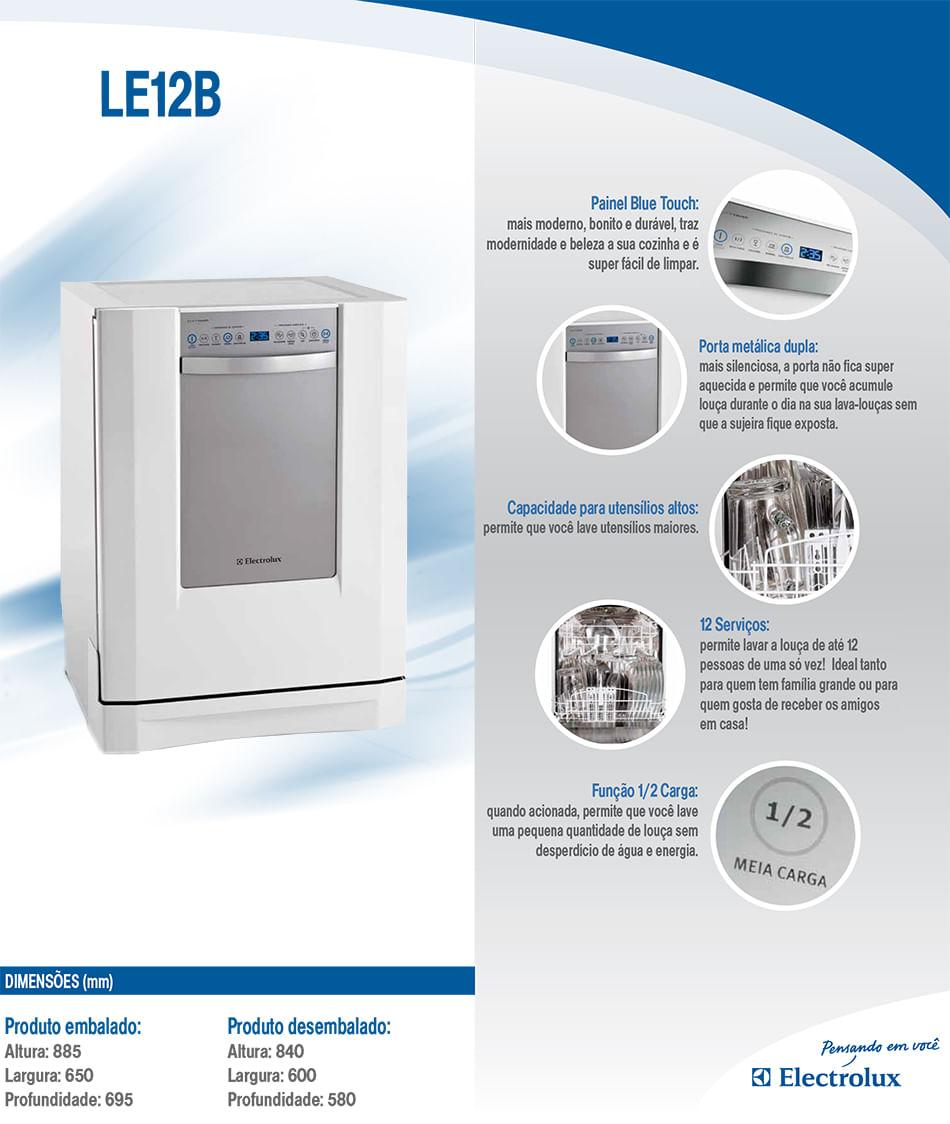 Lava-louças Electrolux LE12B