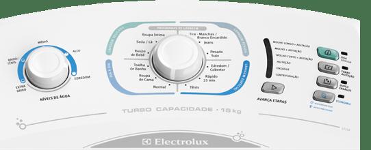 Painel Lavadora de roupas Electrolux LT15F