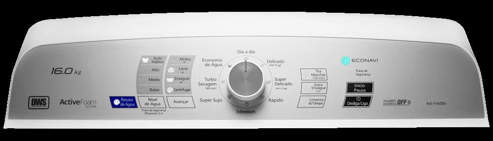 Painel Lavadora Panasonic NA-F140B5W