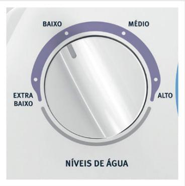 Níveis de água - Lavadora Electrolux LT08E