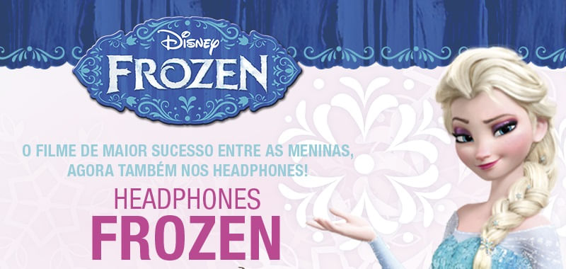 Fone de Ouvido Multilaser Frozen