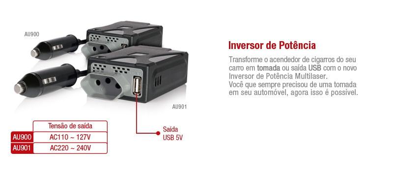 Inversor de Potencia 220V Multilaser