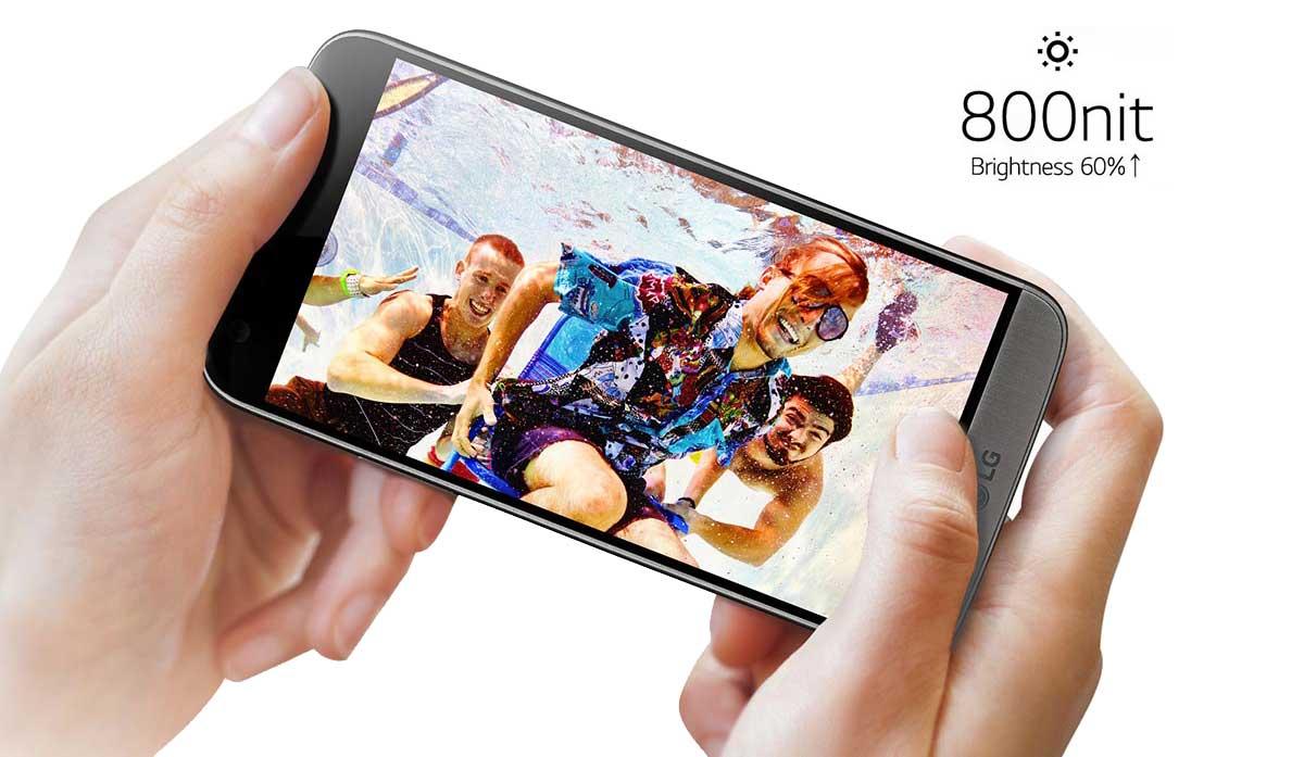 Ângulo de Visão Lente - Smartphone LG G5