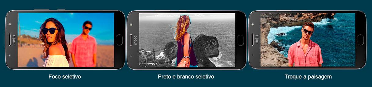 Recursos da Câmera - Moto G5S Plus