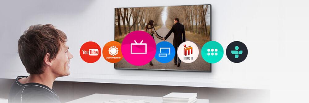 My Home Screen TV LED Panasonic Viera