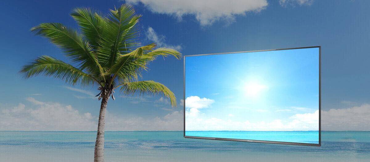 Painel Brilhante - Smart TV Panasonic