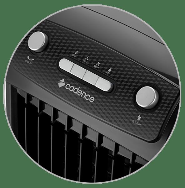 Painel Climatizador de Ar Cadence Ventila e Umidifica